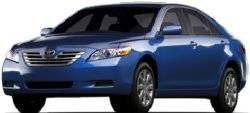 Toyota Camry Hybrid - hybrid cars, hybrid, vehicles, travel, alternative, gasoline, electricity, emissions, driving range, miles per gallon, combustion automobiles, gas price, range, Toyota, Prius